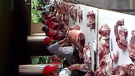 深圳猪肉分割比赛