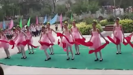 张郭店学校庆六一文艺表演舞蹈《好日子》