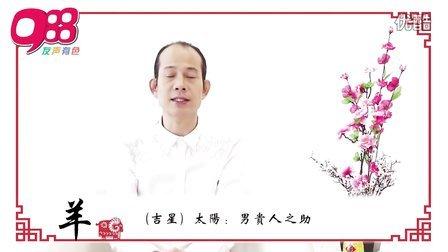 【羊】988苏民峰师傅 马年12生肖运程