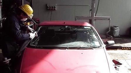 意大利汽车拆解设备TVP气动玻璃切割刀