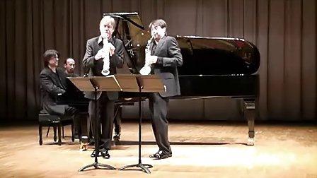 【古典萨克斯】ClaudeDelangle 双重奏后两章乐章  J.B.Singelée.