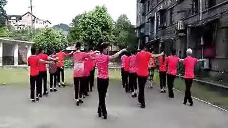 湖南耒阳红卫舞乐广场舞  2、欢快地跳吧   指导罗觉辉   领舞  刘芝兰  表演(集体舞)