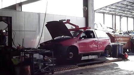意大利汽车拆解设备RBT汽车翻转平台