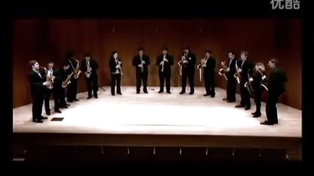 """伊斯曼萨克斯重奏团 普罗科菲耶夫第一交响曲""""古典"""" 第二乐章"""