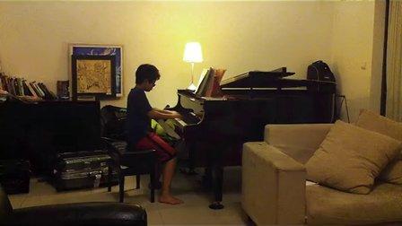 未来音乐家-1 拉德斯基   Ethan 邱一森 上音钢琴第七级 愤怒的小鸟 angery Bird