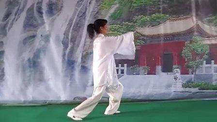 杨式传统太极拳 周恩兰