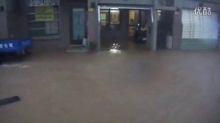 【8.2双台风】苏拉台风沙鹿淹大水智富王水淹民宅
