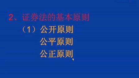 证券法04 西安交大 (全套见优酷空间专辑)