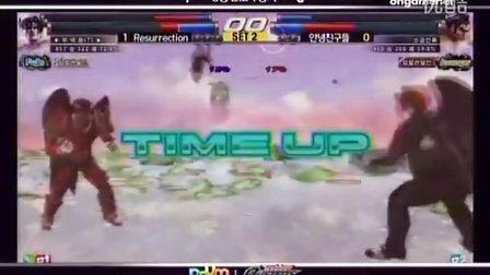 Tekken Busters 8强C.D组比赛。