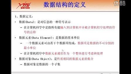 数据结构与算法 第一天001_数据结构概念——华中科技大学东莞嵌入式学习中心