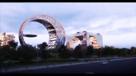规划建设中的南宁五象新区