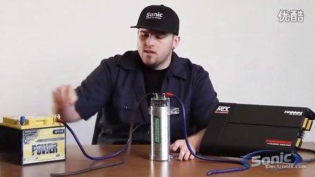 如何安装汽车音响电容