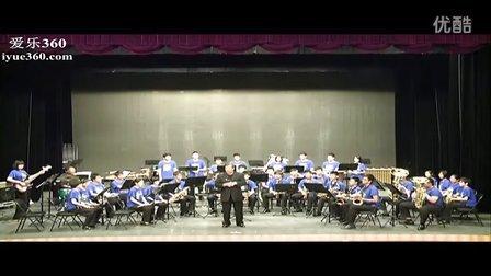 166中学管乐团风尚剧场演奏