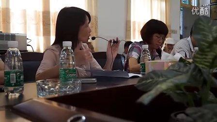 广西柳北区教育局参观团来我区参观学习.