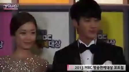 131229OBS-全素敏吴昶锡出席MBC演艺大赏红地毯报道