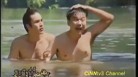 Nadech Yaya爱土之争第2集Athit与Darunee瀑布戏片段