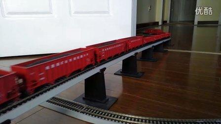 SS4和HXD3B电力机车重联牵引超级货列