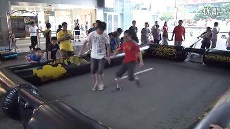 7月14日凯德龙之梦虹口街头足球PK赛无剪辑记录1