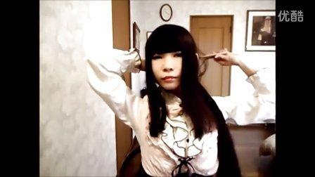 日本及地长发的美女momoco,发长1.89米啦(新视频之三)