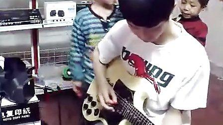 电吉他solo《真的爱你》太搞笑了