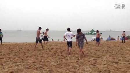 自动化0801毕业旅行之沙滩足球(膀爷队VS穿衣队)