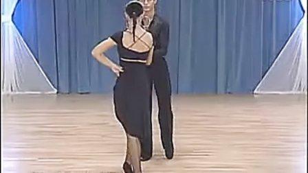 斯拉维克与卡琳娜拉丁舞基础牛仔.flv