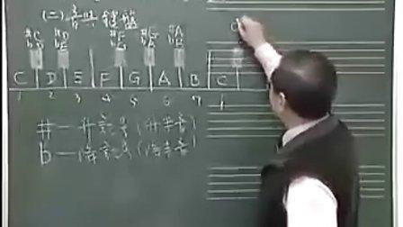 宋大叔教音乐(一)看谱学歌与基础乐理2