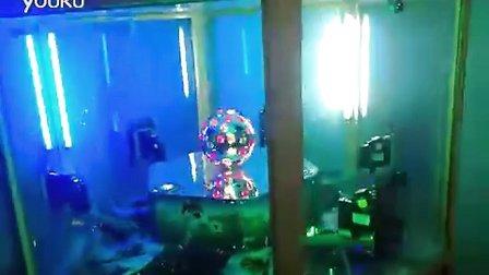 GM4905 coin pusher 纪念币推币机 带感应彩球 丁泉科技