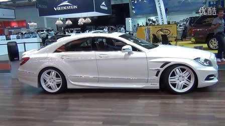 Lorinser CLS 350 CDI with Black _ White Wheels