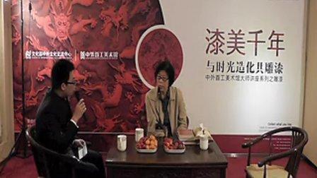 雕漆中国工艺美术大师殷秀云在中外首工美术馆的独家雕漆讲座
