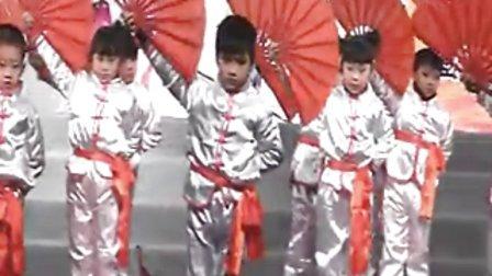 凤台县福娃幼儿园幼儿舞蹈武术《男儿当自强》