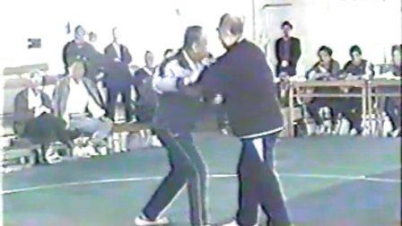 林墨根--李秉慈(首届全国重点单位太极拳推手观摩交流会)