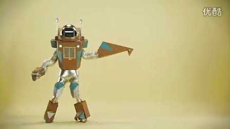 C4D 机器人动画