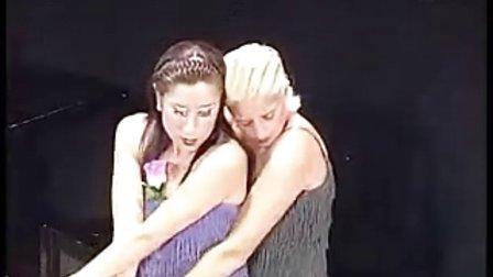 性感女同性恋跳探戈04