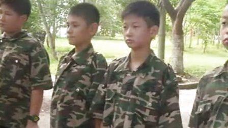 上海西点2012军事夏令营难忘的军训夏令营锻炼我的身心
