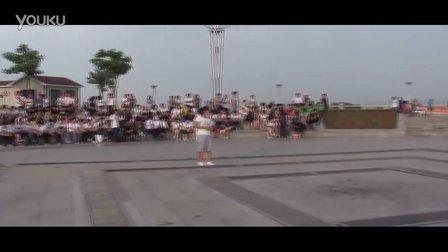 曙光职专2012年6月28日玫瑰广场文艺汇演拍摄花絮-3.正式开演前