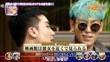 [唯]120501 BigBang on FujiTV - Catherine!中字[JP_CN]