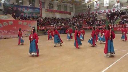 青海省循化县尕楞初级中学舞蹈(六一)