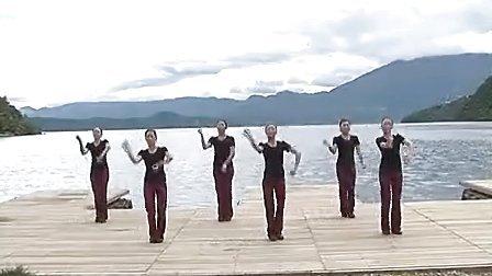 宁蒗彝族自治县民族广场健身舞:彝族舞 久桑啦