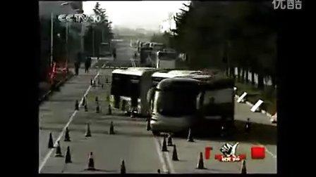 史上最牛绕桩——宇通客车25米子弹头BRT公交车