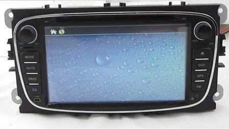 订购热线13710370112 福特福克斯原车DVD导航福克斯导航安装全过程流程效果