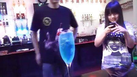 鸡尾酒培训花絮-奥斯卡调酒师培训学校