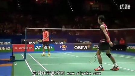 林丹VS陶菲克 2012全英羽毛球公开赛 爱羽客羽毛球网.flv