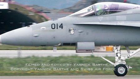 """瑞士空军飞行员Ralph """"Deasy"""" Knittel 2012航展单人表演纪实"""