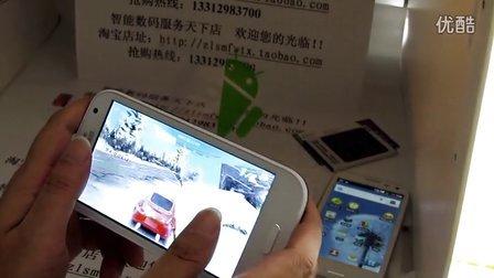 4.8寸安卓4.0智能手机i9300 MTK6575 MTK6577双核双卡双待电容屏 介绍片断五