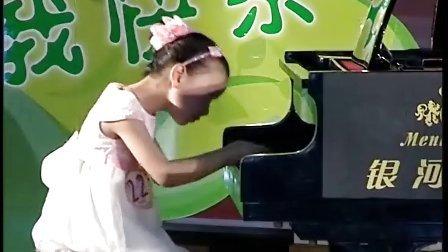 """东阳""""希望之星""""胡蔓祺钢琴《莫扎特奏鸣曲K330》"""