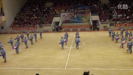 潞新公司首届广场舞比赛一等奖-------露天矿代表队