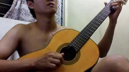 朋友 - 周华健 - 吉他独奏 - handoyomia