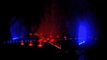 台儿庄大桥喷泉2