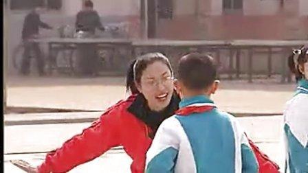 小学二年级体育优质课视频《发展跳跃能力游戏网鱼》小学体育优质课视频